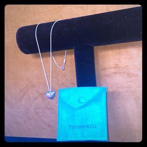 Tiffany Heart Pendant Necklace